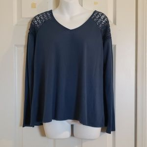 Bongo blue long sleeve. Size xs